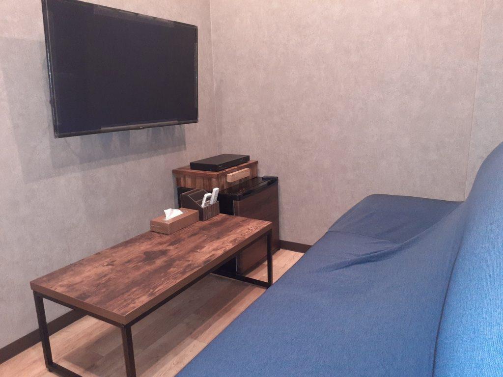 リビングタイプの部屋を新設しました。